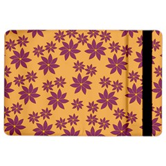 Purple And Yellow Flower Shower Ipad Air 2 Flip by CircusValleyMall