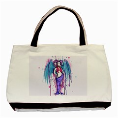 Dirty Wings Basic Tote Bag by lvbart