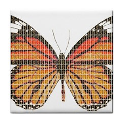 Butterfly Tile Coasters by cocksoupart