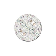 Oriental Floral Ornate Golf Ball Marker (10 Pack) by dflcprints