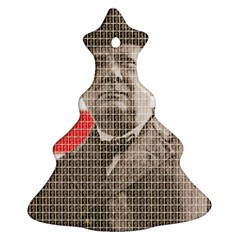Churchill 1 Ornament (Christmas Tree) by cocksoupart