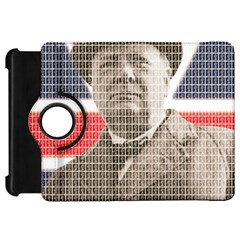 Churchill 1 Kindle Fire HD Flip 360 Case by cocksoupart