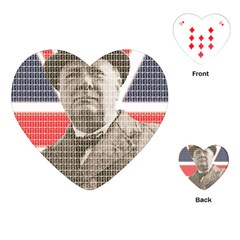 Winston Churchill Playing Cards (heart)  by cocksoupart
