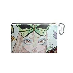 By Leslie Mehl   Canvas Cosmetic Bag (small)   0inw1pzbibwj   Www Artscow Com Back