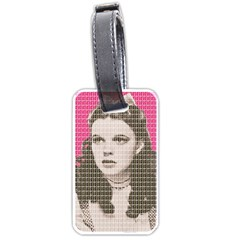 Over The Rainbow   Pink Luggage Tags (one Side)  by cocksoupart