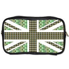 Green Flag Toiletries Bags 2 Side by cocksoupart