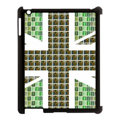 Green Flag Apple iPad 3/4 Case (Black) by cocksoupart
