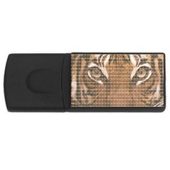 Tiger Tiger USB Flash Drive Rectangular (2 GB)  by cocksoupart
