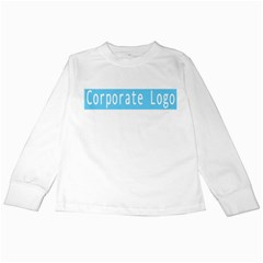 1500x1500 Corporate Logotest2 Kids Long Sleeve T-Shirts by RakeClag