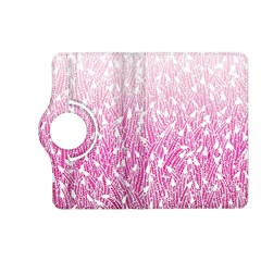Pink Ombre Feather Pattern, White, Kindle Fire Hd (2013) Flip 360 Case by Zandiepants