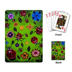 Lucky Ladies Playing Cards Single Design by dawnsiegler