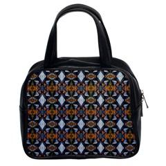 Stones Pattern Classic Handbags (2 Sides) by Costasonlineshop