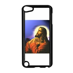 Jesus Praying Apple iPod Touch 5 Case (Black) by jackiepopp