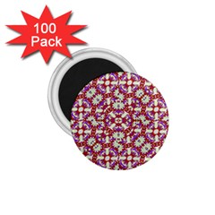 Boho Check 1 75  Magnets (100 Pack)  by dflcprints
