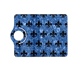 Royal1 Black Marble & Blue Marble Kindle Fire Hd (2013) Flip 360 Case by trendistuff