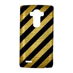 STR3 BK MARBLE GOLD LG G4 Hardshell Case by trendistuff