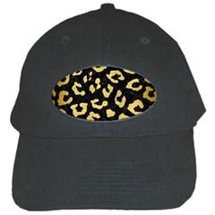 Skin5 Black Marble & Gold Brushed Metal (r) Black Cap by trendistuff