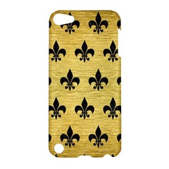 RYL1 BK MARBLE GOLD Apple iPod Touch 5 Hardshell Case by trendistuff