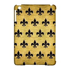 Royal1 Black Marble & Gold Brushed Metal Apple Ipad Mini Hardshell Case (compatible With Smart Cover) by trendistuff
