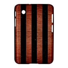 STR1 BK MARBLE COPPER Samsung Galaxy Tab 2 (7 ) P3100 Hardshell Case  by trendistuff