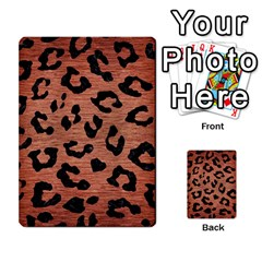 Skin5 Black Marble & Copper Brushed Metal Multi Purpose Cards (rectangle) by trendistuff