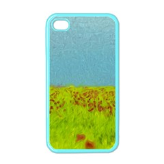 Poppy Iv Apple Iphone 4 Case (color) by colorfulartwork