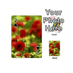 Poppy Vi Playing Cards 54 (mini)  by colorfulartwork