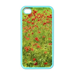 Poppy Vii Apple Iphone 4 Case (color) by colorfulartwork