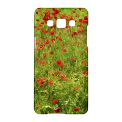 Poppy Vii Samsung Galaxy A5 Hardshell Case  by colorfulartwork
