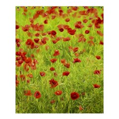 Poppy Viii Shower Curtain 60  X 72  (medium)  by colorfulartwork