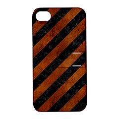 STR3 BK MARBLE BURL Apple iPhone 4/4S Hardshell Case with Stand by trendistuff