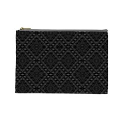 Back Is Black Cosmetic Bag (large)  by MRTACPANS