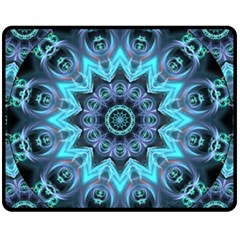 Star Connection, Abstract Cosmic Constellation Fleece Blanket (medium)  by DianeClancy