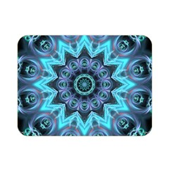 Star Connection, Abstract Cosmic Constellation Double Sided Flano Blanket (mini)  by DianeClancy