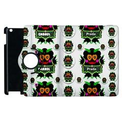 Monster Trolls In Fashion Shorts Apple Ipad 3/4 Flip 360 Case by pepitasart