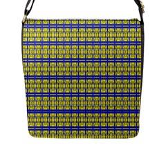 No Vaccine Flap Messenger Bag (l)  by MRTACPANS