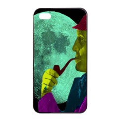 Sherlock Holmes Apple Iphone 4/4s Seamless Case (black) by icarusismartdesigns