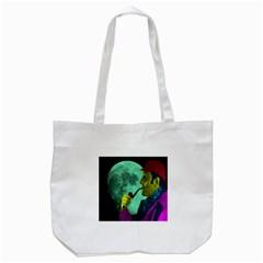 Sherlock Holmes Tote Bag (white) by icarusismartdesigns