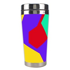 Colorful Misc Shapes                                                  Stainless Steel Travel Tumbler by LalyLauraFLM