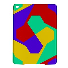 Colorful misc shapes                                                  Apple iPad Air 2 Hardshell Case by LalyLauraFLM