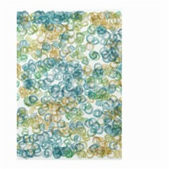 Fading Shapes Texture                                                    Small Garden Flag by LalyLauraFLM