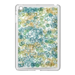 Fading Shapes Texture                                                    			apple Ipad Mini Case (white) by LalyLauraFLM