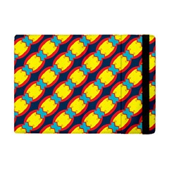 Blue X Chains                                                     			apple Ipad Mini Flip Case by LalyLauraFLM