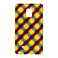 Blue X Chains                                                     samsung Galaxy Note Edge Hardshell Case by LalyLauraFLM