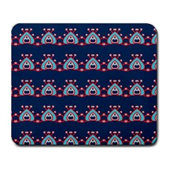 Hearts Pattern                                                      large Mousepad by LalyLauraFLM