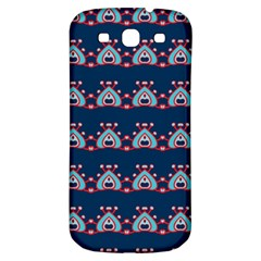 Hearts Pattern                                                      			samsung Galaxy S3 S Iii Classic Hardshell Back Case by LalyLauraFLM