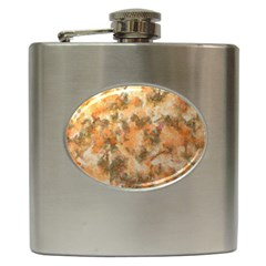 Water Oil Paint                                                       hip Flask (6 Oz) by LalyLauraFLM