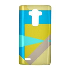 Blue Yellow Shapes                                                        lg G4 Hardshell Case