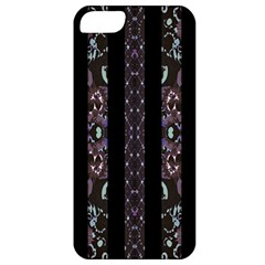 Oriental Floral Stripes Apple Iphone 5 Classic Hardshell Case by dflcprints