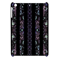 Oriental Floral Stripes Apple Ipad Mini Hardshell Case by dflcprints